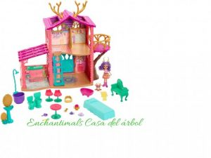 Enchantimals casa del arbol