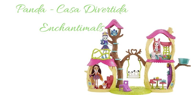 Panda - Casa Divertida Enchantimals