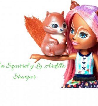 Enchantimals Sancha Squirrel y La Ardilla Stumper