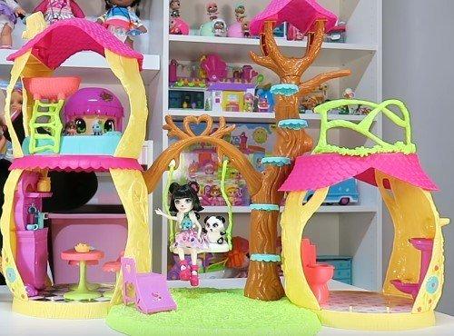 casa PANDA divertida enchantimals armada