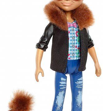 enchantimals Hixby hedgehog muñeco con erizo