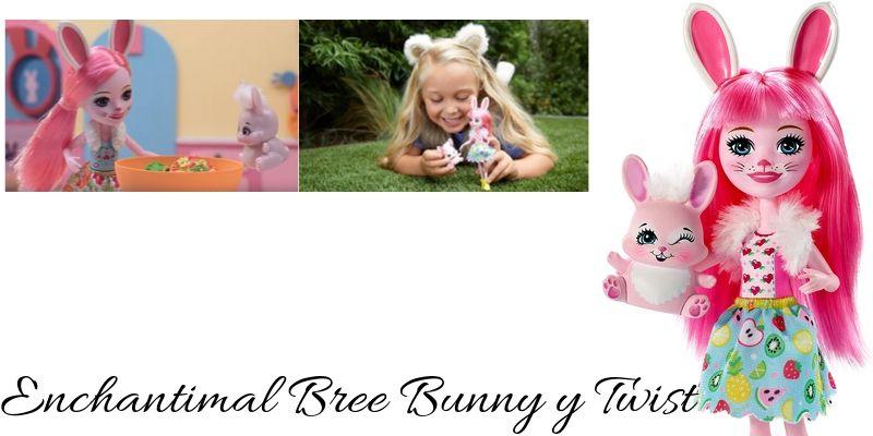 Bree Bunny y Twist conejo Enchantimal