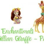 Enchantimals jirafa con mascota Pawl  - Muñeca Gillian Giraffe