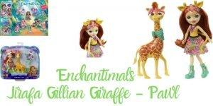 Jirafa enchantimals Gillian Giraffe - Pawl
