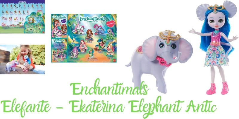 Elefante - enchantimal Ekaterina Elephant Antic